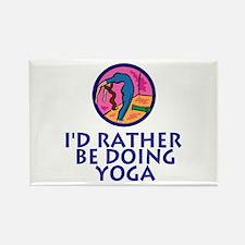 YogaChick Rather Rectangle Magnet