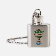 EARTHWITHOUTART3 Flask Necklace