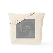 black-white-grey-swirl Tote Bag