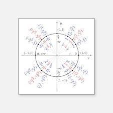 """unitcircles Square Sticker 3"""" x 3"""""""