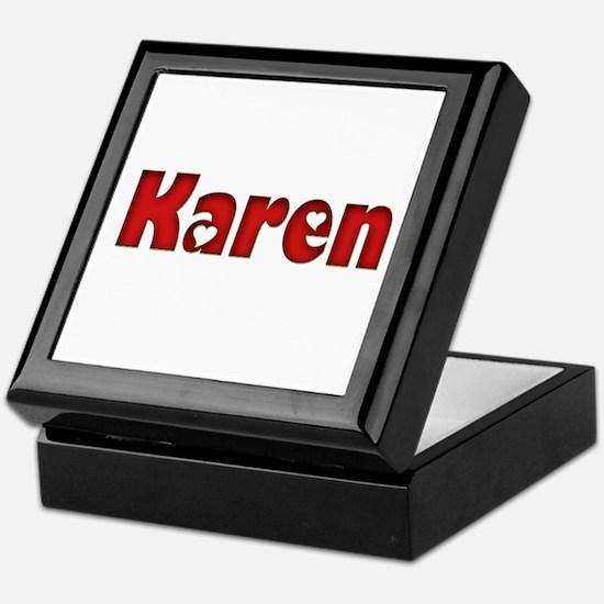Karen Keepsake Box