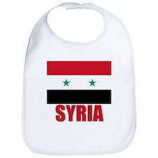 Syria Flag Bib
