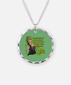 BAD-PICK-UP-LINES-3-INCH-BUT Necklace