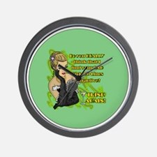 BAD-PICK-UP-LINES-3-INCH-BUTTON Wall Clock
