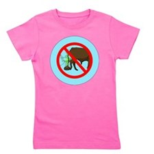 NO-BULLSHIT-ZONE-3-INCH-BUTTON Girl's Tee