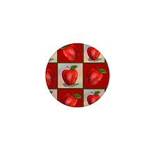 jUICY-aPPLES-PILLOW-CASE Mini Button
