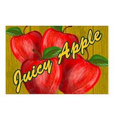 JUICY-APPLE-WOODGRAIN-STA Postcards (Package of 8)