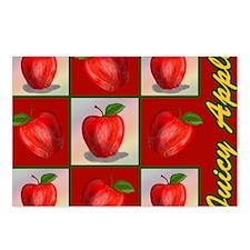 JUICY-APPLE-STADIUM-BLANK Postcards (Package of 8)