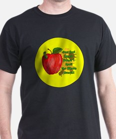 ONE-BAD-APPLE-3-INCH-BUTTON T-Shirt