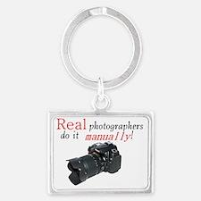 photogs manually nikon Landscape Keychain