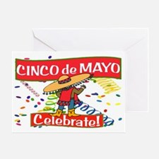 cinco de mayo celebrate Greeting Card