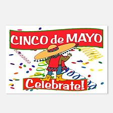 cinco de mayo celebrate Postcards (Package of 8)