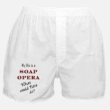 SoapOperaNoraRed_t-shirt Boxer Shorts