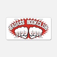 bookclub Aluminum License Plate