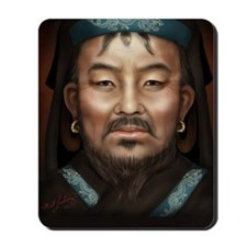 5X8 Genghis Khan Journal Mousepad