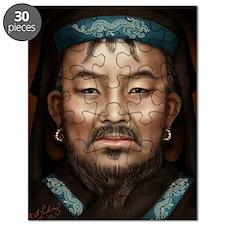 16X20 Genghis Khan Print Puzzle