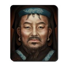 16X20 Genghis Khan Print Mousepad
