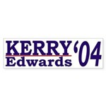 Kerry-Edwards '04 (bumper sticker)