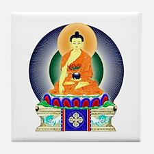 Colorful Buddha Tile Coaster