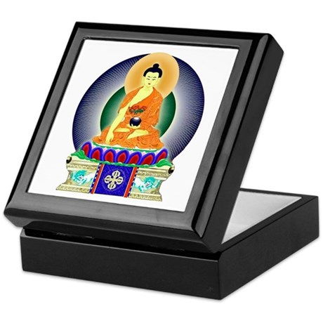 Colorful Buddha Keepsake Box