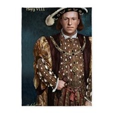 23X35 Young Henry VIII Print 5'x7'Area Rug