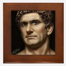 9X12 Mark Antony Print Framed Tile
