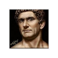 "14X10 Mark Antony Print Square Sticker 3"" x 3"""