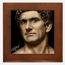 14X10 Mark Antony Print Framed Tile