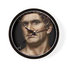 14X10 Mark Antony Print Wall Clock