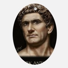 23X35 Mark Antony Print Oval Ornament