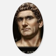 23X35 Mark Antony Print Sticker (Oval)