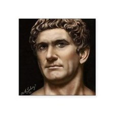 "16X20 Mark Antony Print Square Sticker 3"" x 3"""
