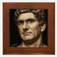 16X20 Mark Antony Print Framed Tile
