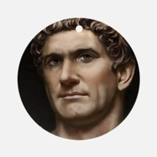 16X20 Mark Antony Print Round Ornament