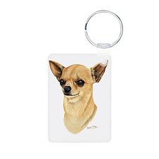 Chihuahua Dark copy Keychains