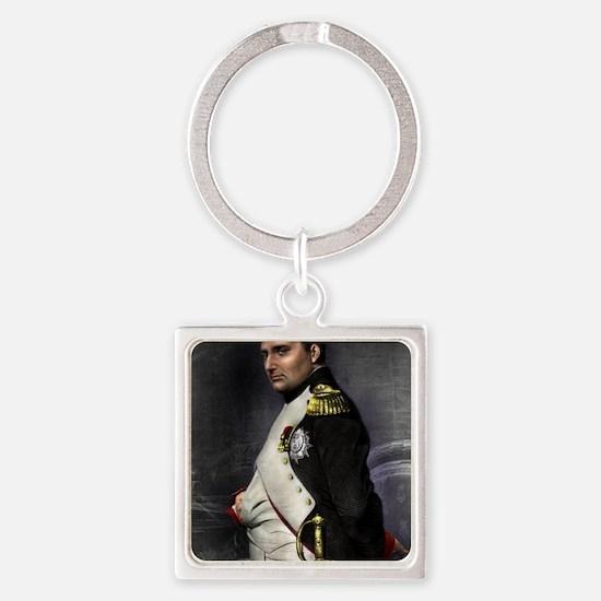 16X20 Napoleon Print Square Keychain