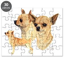Chihuahuas Dark copy Puzzle