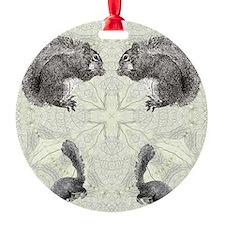 Squirrel FlipFlops Ornament
