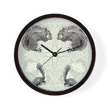 Squirrel FlipFlops Wall Clock