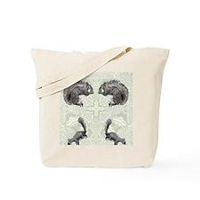 Squirrel FlipFlops Tote Bag