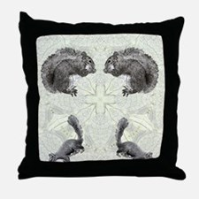 Squirrel FlipFlops Throw Pillow