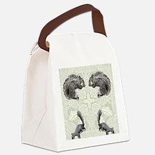 Squirrel FlipFlops Canvas Lunch Bag