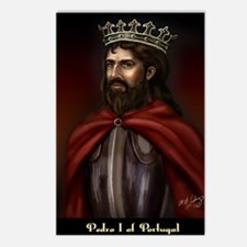 14X10 Pedro I of Portugal Postcards (Package of 8)