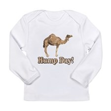 Vintage Hump Day Camel Long Sleeve T-Shirt