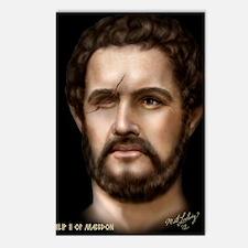 16X20 Philip II of Macedo Postcards (Package of 8)