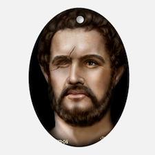 16X20 Philip II of Macedon Print Oval Ornament