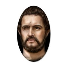 14X10 Philip II of Macedon P 35x21 Oval Wall Decal