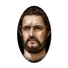 9X12 Philip II of Macedon Pr 35x21 Oval Wall Decal