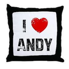 I * Andy Throw Pillow