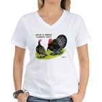 Turkey Day Women's V-Neck T-Shirt
